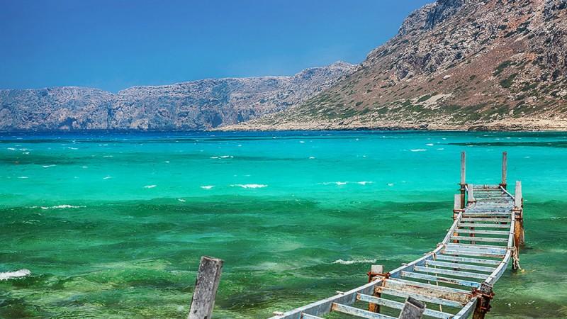 Balos Bay, Greece