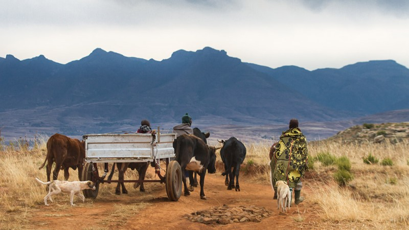 Lesotho,-Southern-Africa