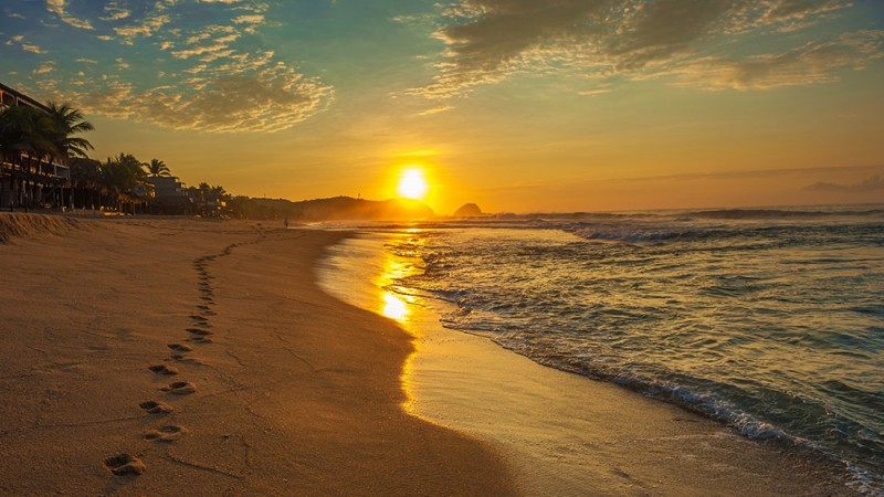 Playa-Zipolite---Zipolite,-Mexico