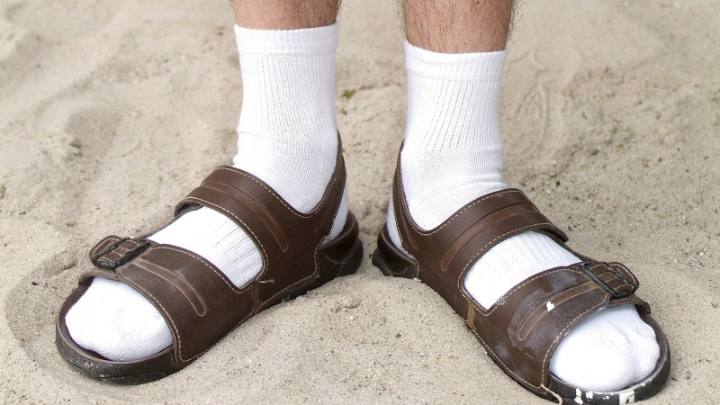 Socks-and-Sandals